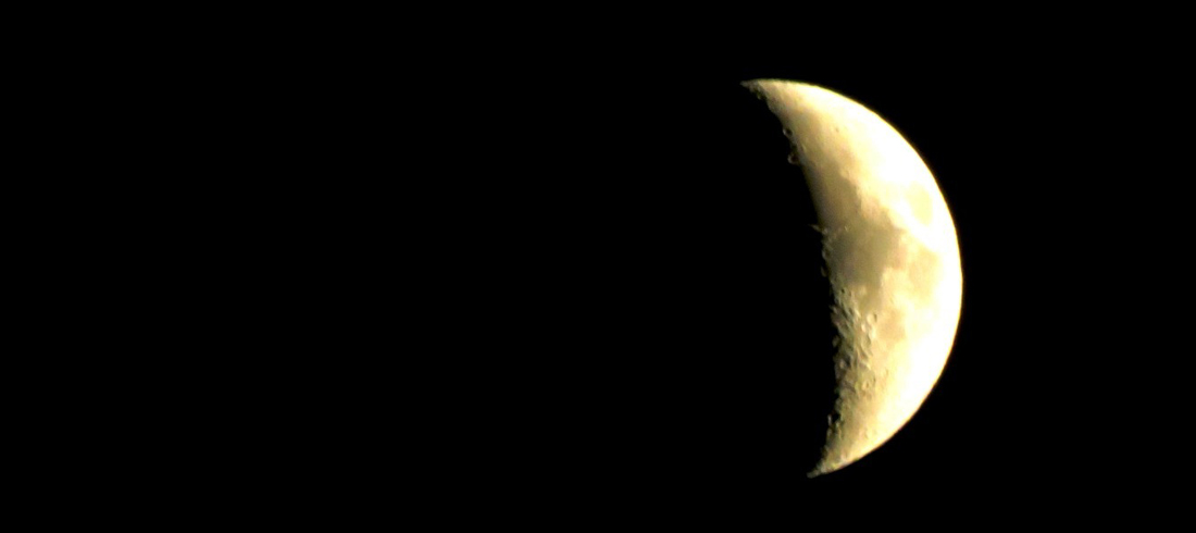 Lua crescente