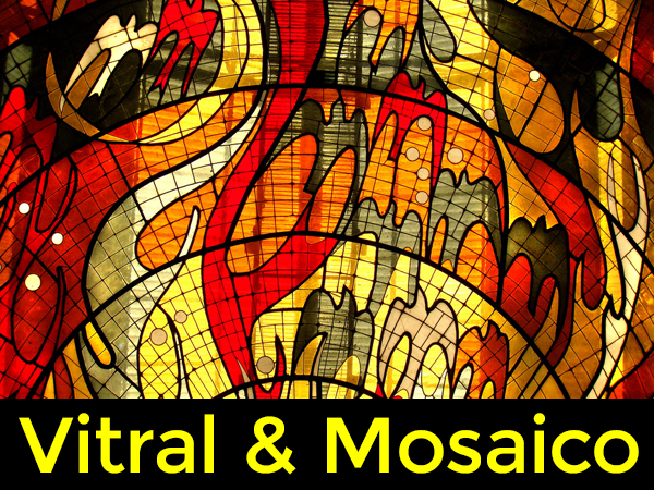 Curso de Cultivo de Vitral & Mosaico
