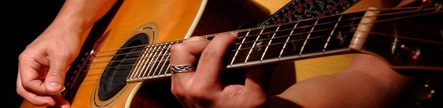 Brilho do violão afinado