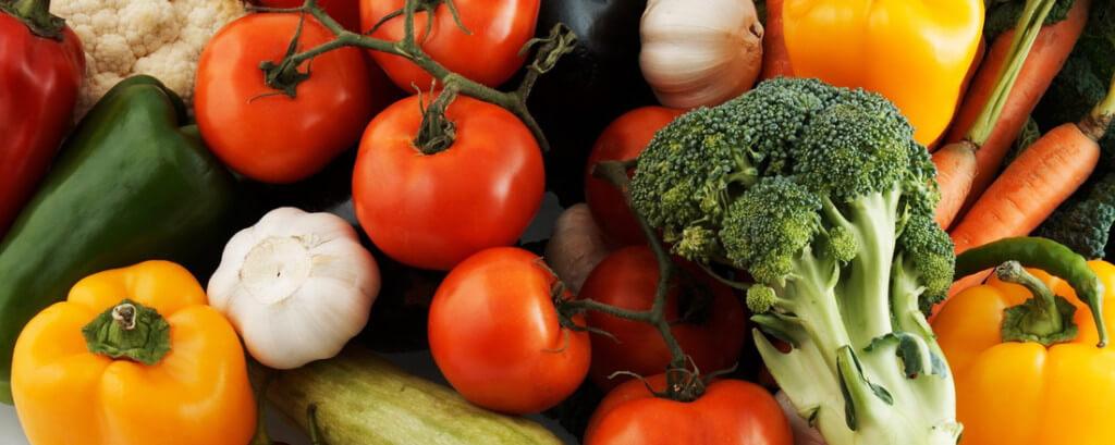 Alimentos vegetais orgânicos