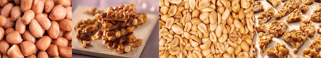 Doces de amendoim